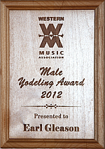 Male Yodeler of the Year 2012