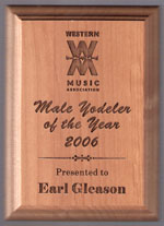 Male Yodeler of the Year - 2006
